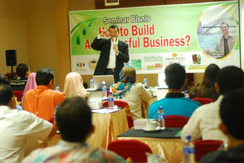 How to Build a Successful Business, Sragen
