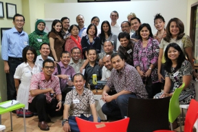 ICF Meeting at SBCF Office, 2012
