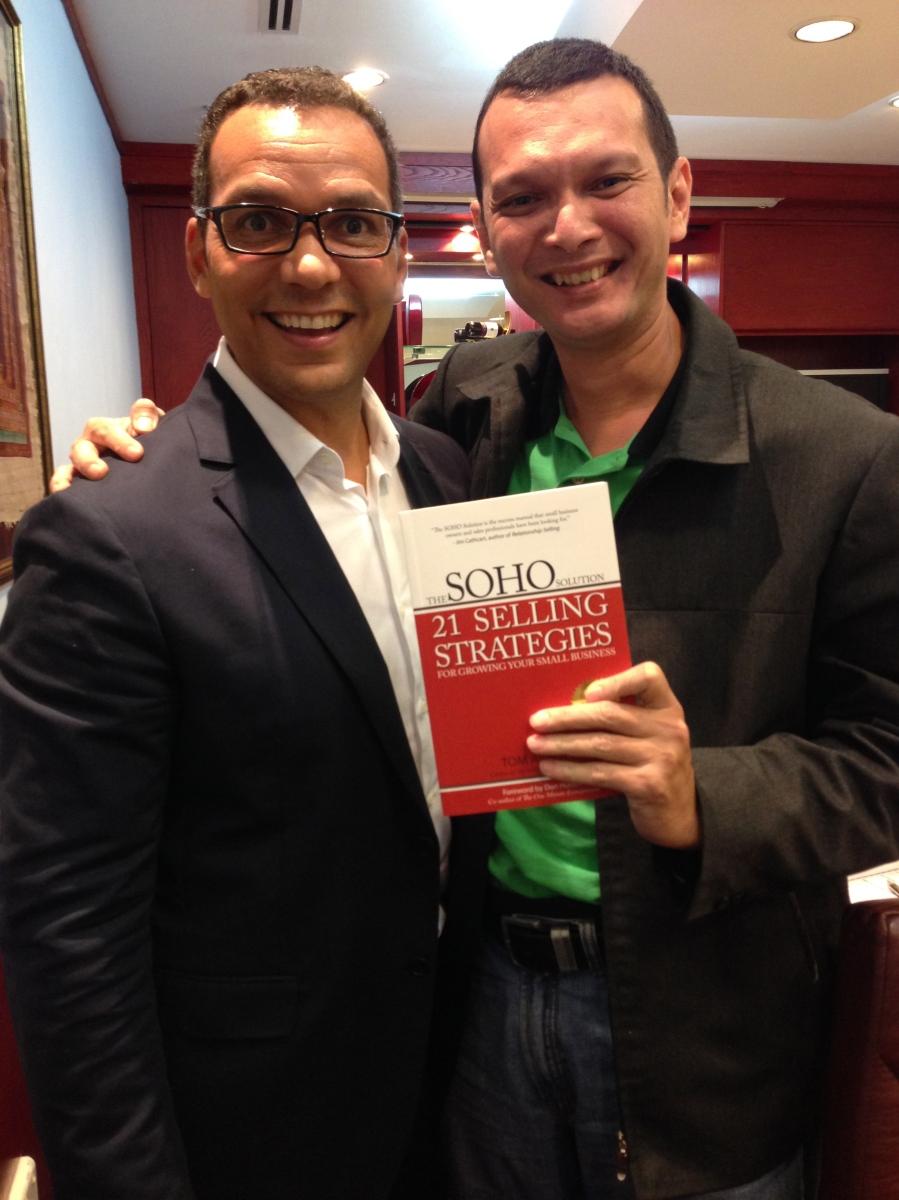 Tom Abbot - SOHO Sales Coaching, Singapore - 2014