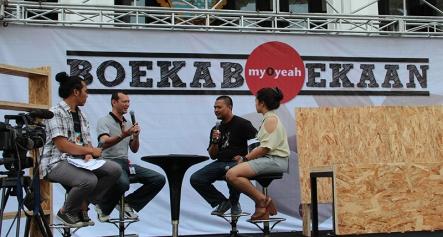 Open Talkshow di Gedung Sate Bandung