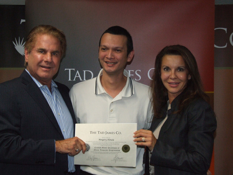 Tad-Adriana James, NLP-Time Line Therapy - Hiphnoterapy - 2010