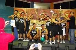 Winner of Reunion Basketball Championship Senior High School - 2012