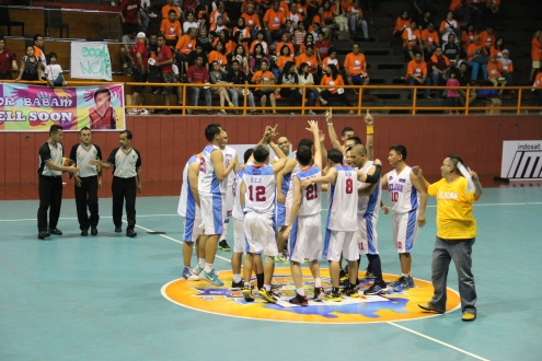 Teladan 3 vs SMA4 - Winner Kharisma Tournament - 2013