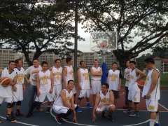 Makara Basketball Trip, Singapore