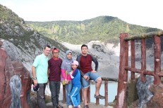 Mt. Tangkuban Perahu - Lembang