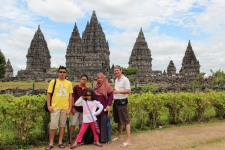 Prambanan Temple, Central Java, 2012