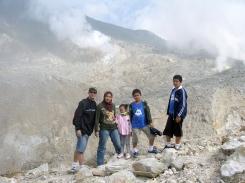 Mount Papandayan, West Java, 2011