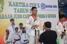 Silver Medal Zaidan, Kejurnas Judo Kartika, Bandung 2017