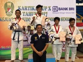 Silver Medal Zaidan, Kejurnas Kartika, Bandung 2017