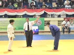 Zaidan win to Semifinal Kejurnas Kartika, Bandung, 2017